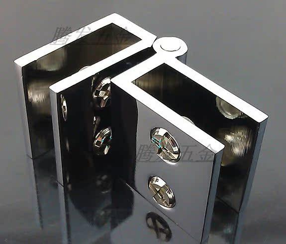 คลิปแก้ว / ทองแดง / บานพับประตูกระจก 90 องศากระจกบานพับประตูบานพับประตูตู้ / บาร์ / 5-8mm