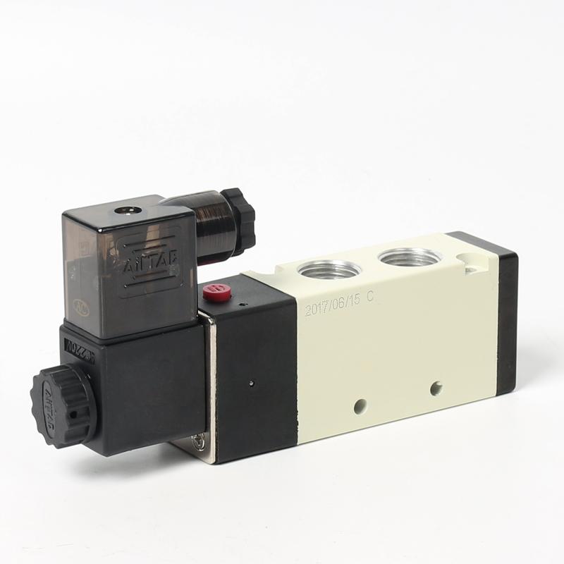 O Segundo Elemento pneumático válvula de solenóide pneumática de Cinco vias válvula de reversão 4V310-10 - um ano de garantia