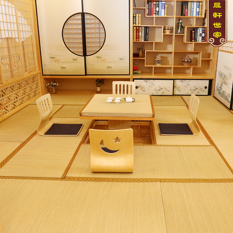 Japanese tatami mats made of coconut matting mattresses cushions tatami mats cushion windows platform