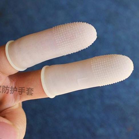 Anti - estático descartáveis amarelo Dedo de BORRACHA anti - derrapante Dedo proteção: proteção de plástico de fábrica