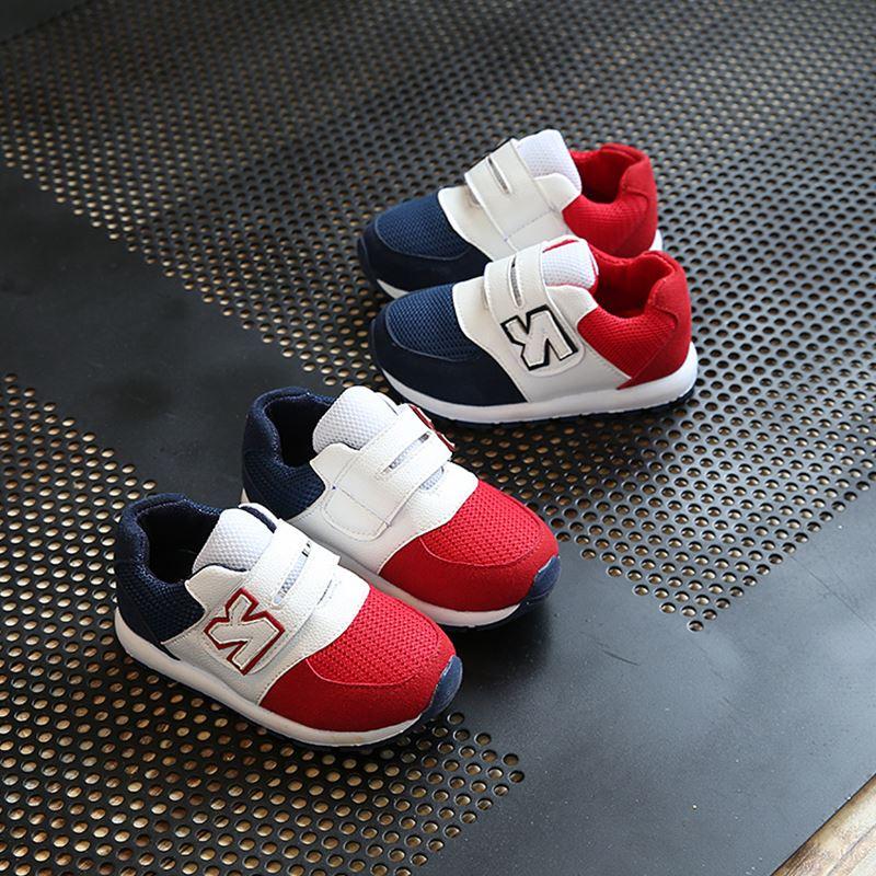 3秋冬季1-5周岁半宝宝童鞋2男童运动4小孩跑步鞋儿童网布幼童鞋子