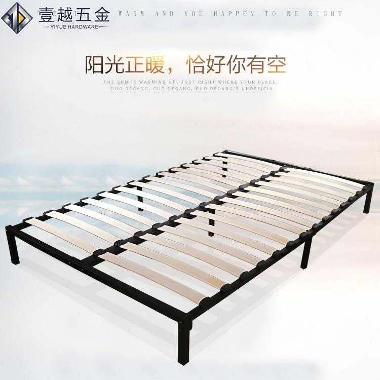 Im modernen appartements Eisen von 1,2 meter, schmiedeeisernen Bett 1,5 Meter Double bed frame - pai skelett Bedstead aus Eisen