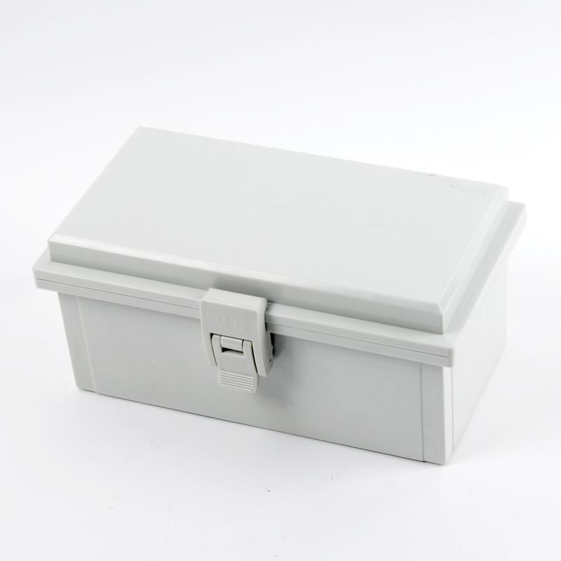 110 * 200 * 90 bisagra de la hebilla del cinturón industrial de la impermeabilización de la Caja de empalmes de cajas de cambio de caja impermeable de plástico