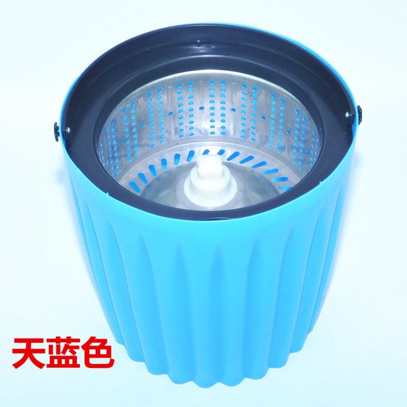 El cubo de la fregona de lavado de un barril de extrusión cubo cubo el cubo de la fregona un barril de lavado de manos libre rotación de cubo de limpieza.