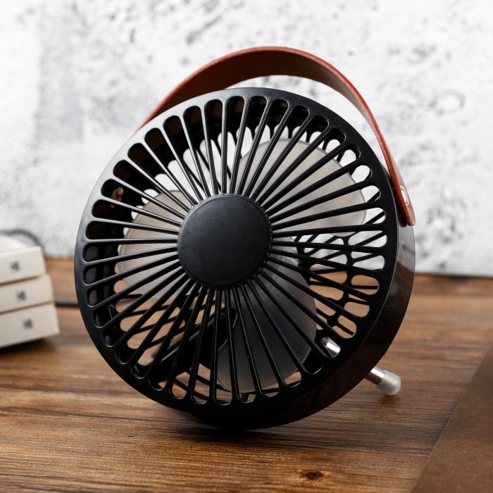 Ventilador portátil de cola | pequeños la humedad producto de escritorio pequeño ventilador ventilador USB Desk fan silencioso de la Oficina