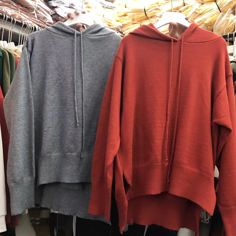 Zu hause BIGKING Daikin (kapuzen - pullover Locker Wind pullover Frauen Kurz vor der Schüler - Reihe nach den Langen