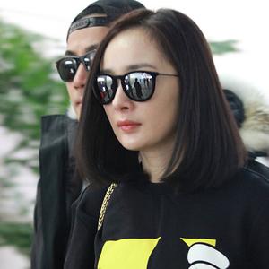 超轻偏光墨镜女士 防紫外线明星同款太阳眼镜 圆脸2018韩版时尚潮