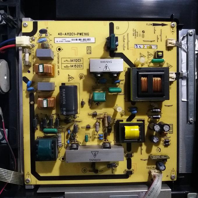 oryginalne części telewizor lcd 40-A112C1-PWE1XG TCLL42P60FBD moc statku