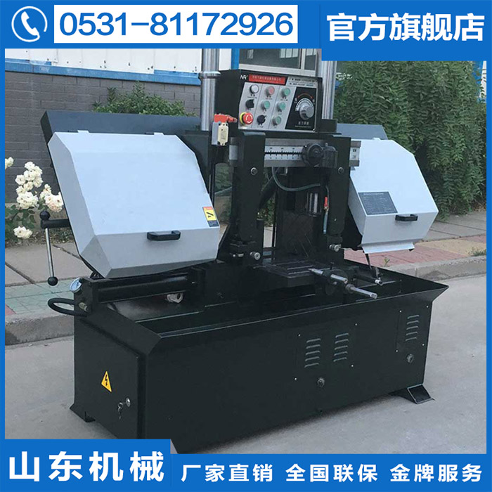 New products listed GZ4230 white double column horizontal metal band sawing machine special equipment, machine saw blade