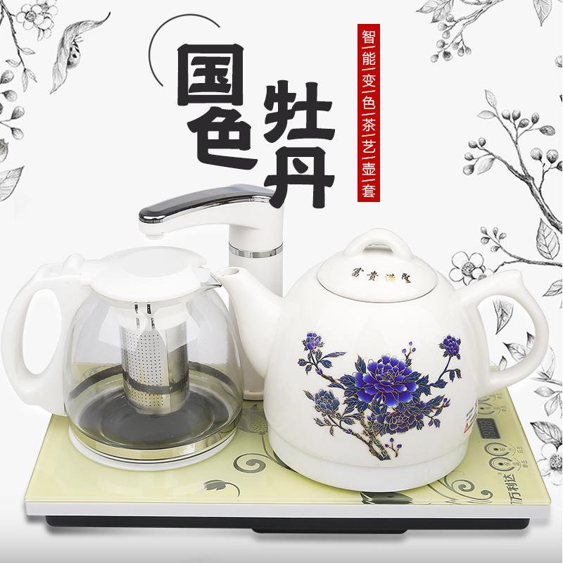 Agua de la tetera de té de porcelana automático de bombeo de agua de la tetera en el hervidor de agua de uso doméstico