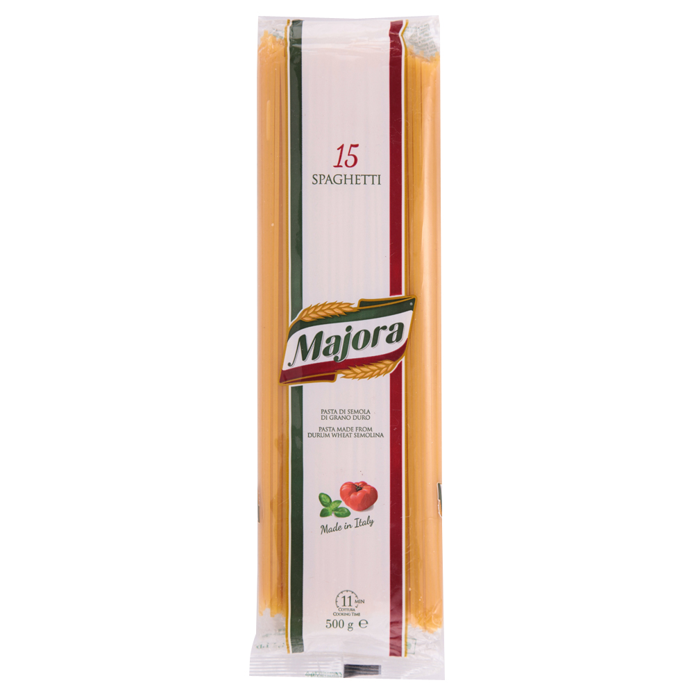Italy imported wheat pasta noodles Gyalo straight bar original spaghetti pasta instant 500g