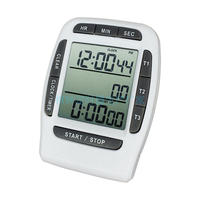 PS370, three groups of multi channel three channel electronic laboratory Countdown Timer Stopwatch reminder