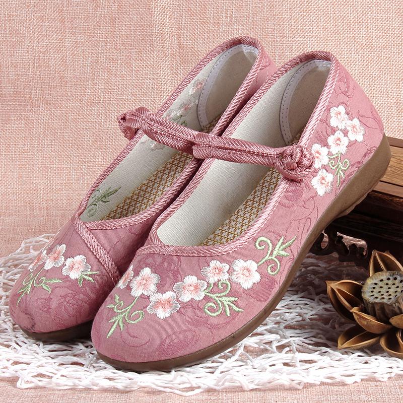 【妈妈鞋】唐鞋复古休闲工作软底鞋
