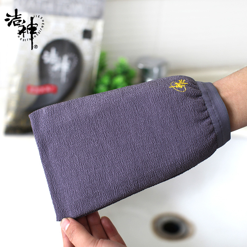 Kobe God wash bath towel strong grit rub mud rubbing back gloves Double thickening bath artifact