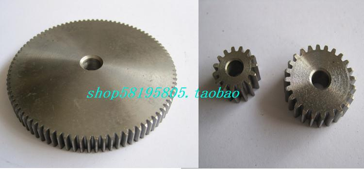 Spur gear straight gear metal gear 1M75 tooth outer diameter 77 thick 10 transmission gear