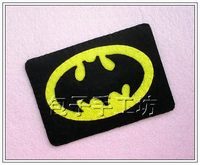 175[] bun nonwoven materials package DIY Batman card set