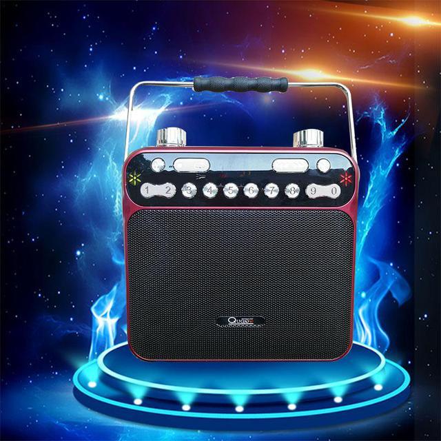 Drahtlose bluetooth - karte lautsprecher Bass - Handy, computer, Square dance Sound - hochleistungs - tragbare lautsprecher radio