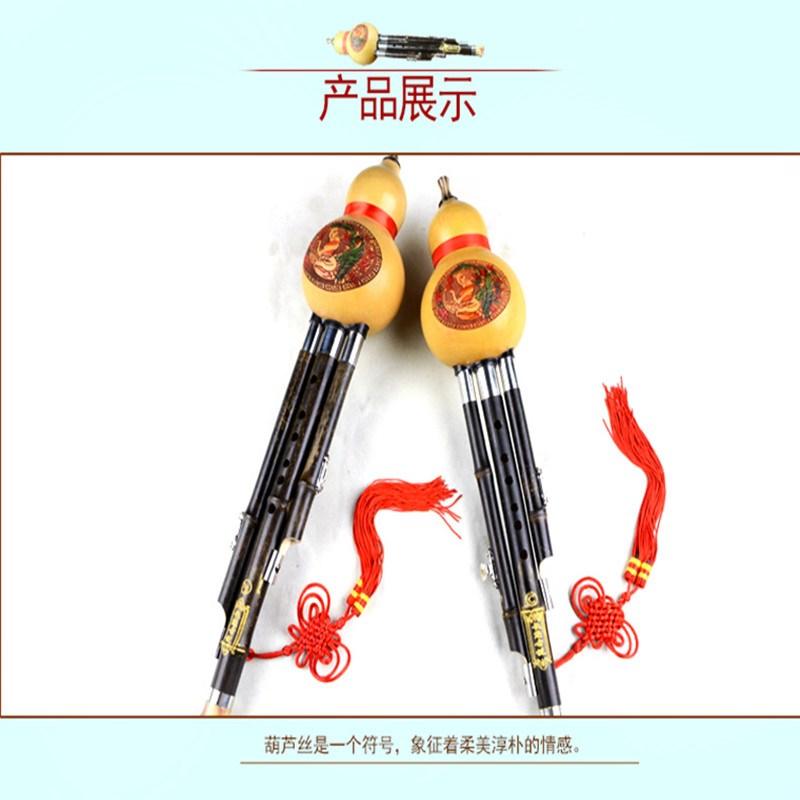 La voz de la caída de agua de calabaza C B. Regulación de los demás instrumentos de 胡芦丝 dgf principiante v300 nigra