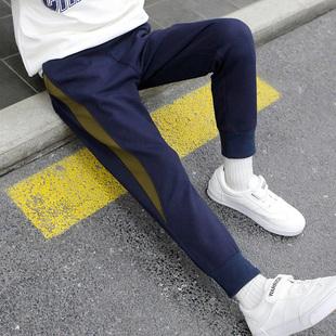 男童裤子秋冬新款儿童休闲长裤子中大童时尚韩版潮流运动裤童装