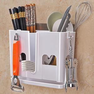 筷子筒挂式沥水筷子笼家用筷笼厨房筷子架筷子收纳创意筷筒筷子盒