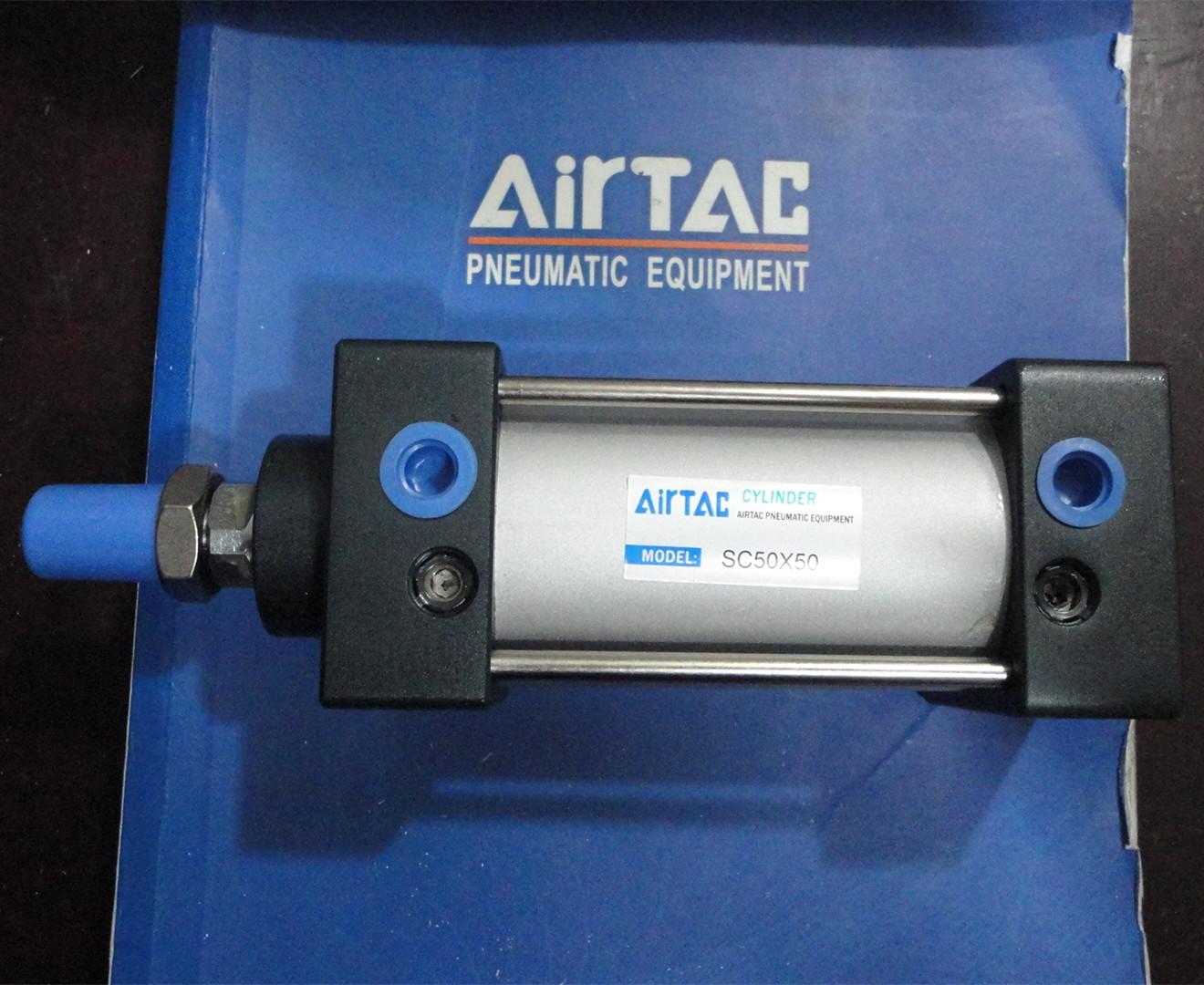 Standard - zylinder SC63*25/50/75/100/125/150/175~250 de gast AIRTAC Aluminium - legierung