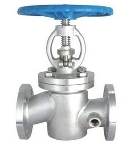 Genuine BJ41H cast steel, stainless steel insulation stop valve, insulation jacket stop valve, guide oil thermal insulation stop valve