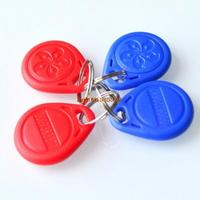 10/lot  125kHz RFID Proximity ID Token Tag Key Keyfobs