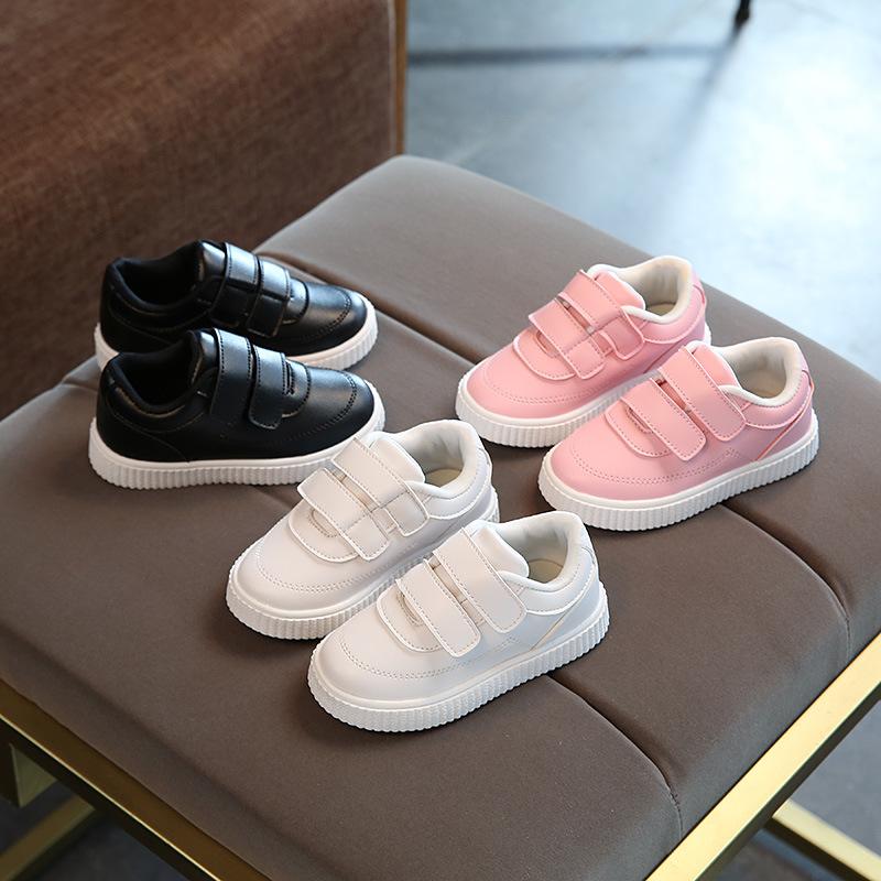 2017秋季新款儿童鞋韩版男童乐福运动鞋女童透气休闲板鞋小白鞋潮