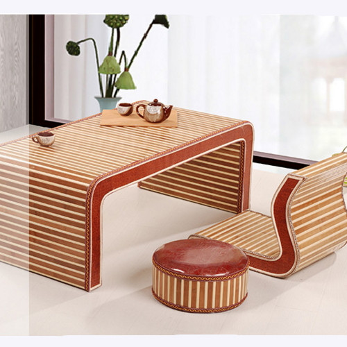 All solid wood bed small tatami tea table table table table wear home balcony window Ancient Chinese Literature Search solid table