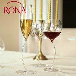 捷克进口RONA洛娜手工杯无铅水晶玻璃红酒杯葡萄酒杯子酒具3068