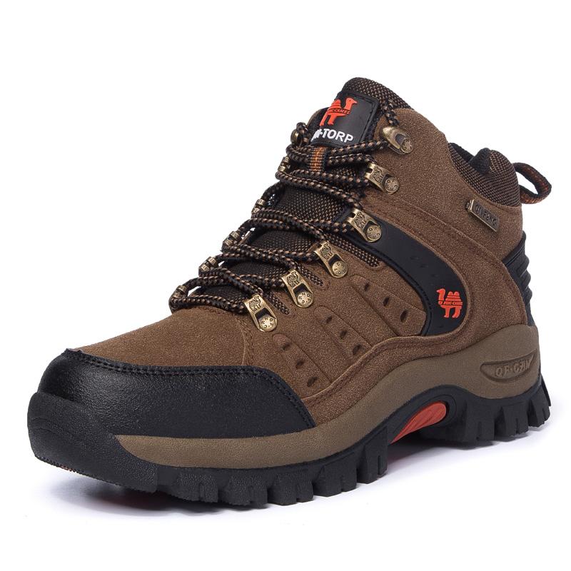 天天特价高帮户外运动登山鞋秋冬季男徒步鞋女防滑防水冲锋爬山鞋