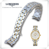 The Longines m warrior watch with L2L4 stainless steel strip Unisex Butterfly Bracelet Watch Strap Watch Strap