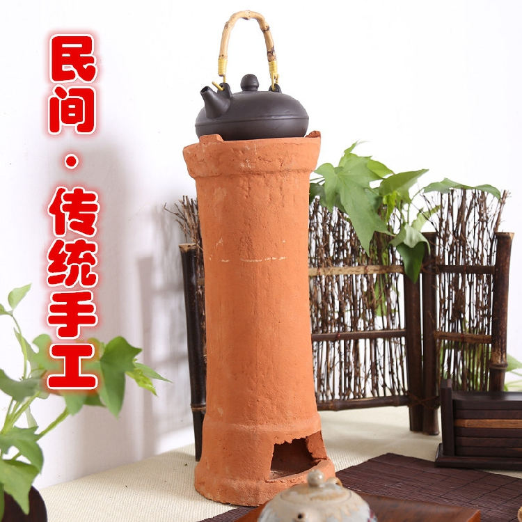 доменный терракота печь Чаочжоу традиционных оливковое уголь печь печь подогрева воды высокотемпературные печи углерода уголь котла отопления кунг - фу