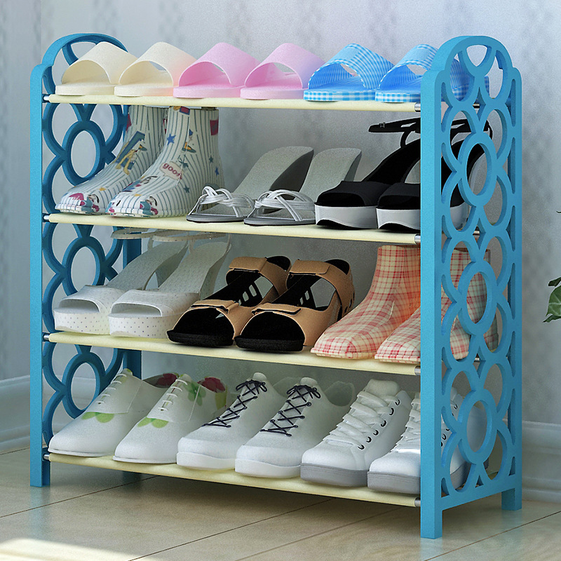 The dormitory students dormitory special offer simple shoe rack economic type household home multifunctional mini space