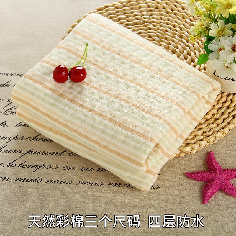 Cada plataforma de orina recién nacido bebé grande de algodón impermeable lavable doble colchón para niños y adultos