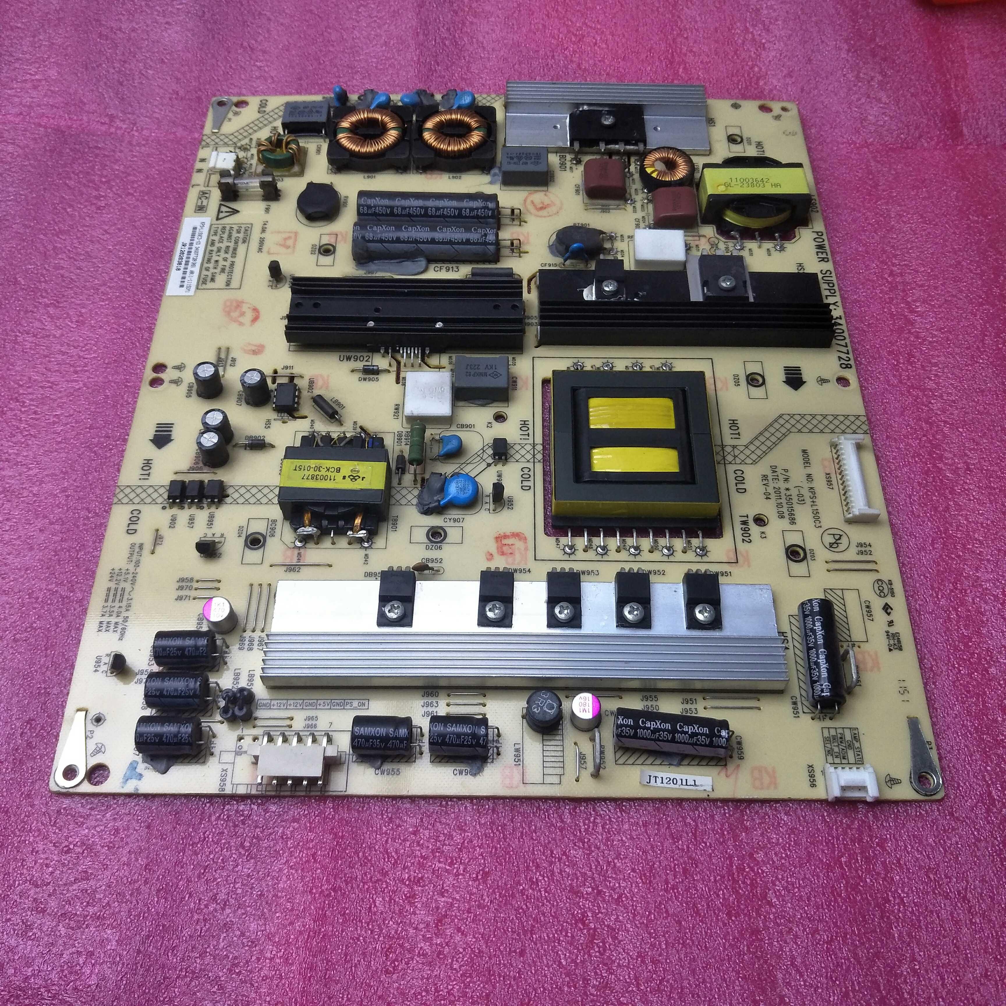 Konka LED55X5000DE55 - Zoll - LCD - TV die stromversorgung An Bord fährt die hochdruck - hintergrundbeleuchtung - Aufsichtsrat