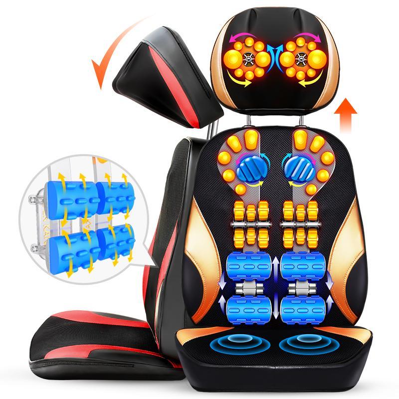 massage pude, elektriske organ multifunktionelle halshvirvel massage pude og hals talje familie bil til bil