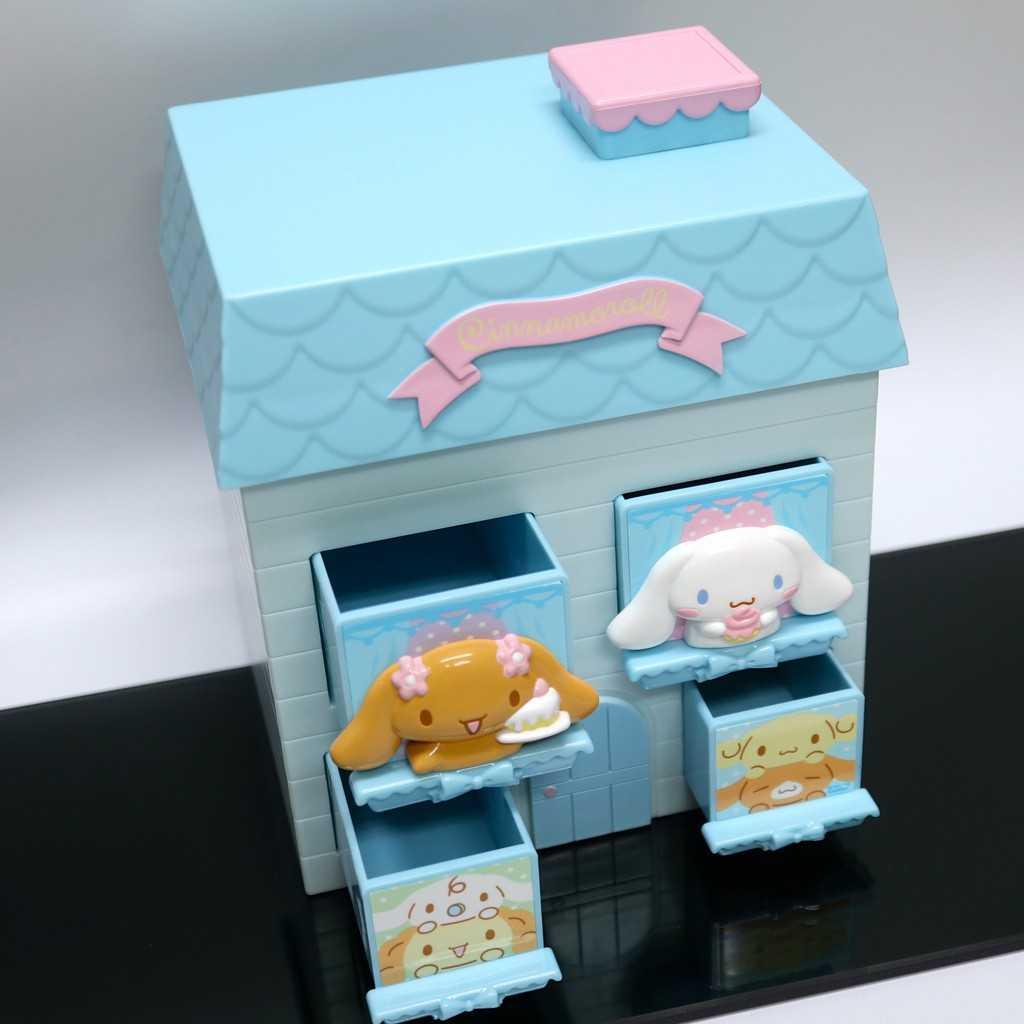 sanrio 大耳狗 2016年出品 置上型置物盒(房子) 其他收納盒首飾盒
