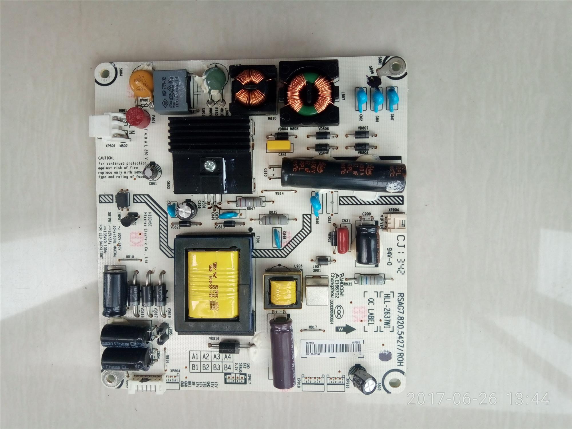 LED32K600J32 inch TV plasma điện cao áp phiến bảng lít chảy my444 bo mạch liên tục