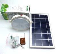 New solar lamp, ceiling lamp, solar wall lamp, indoor lighting, highlight, light control, remote control, solar energy room