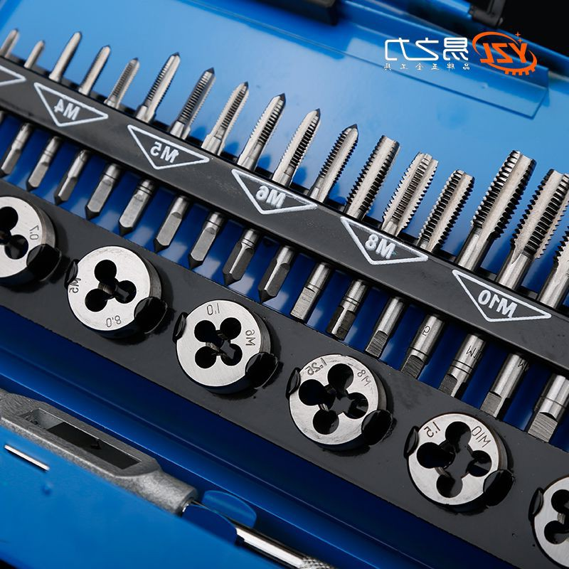 Japan MY power purchase easy metric tap and die set screw tapping device with manual hand tapping wrench wrench