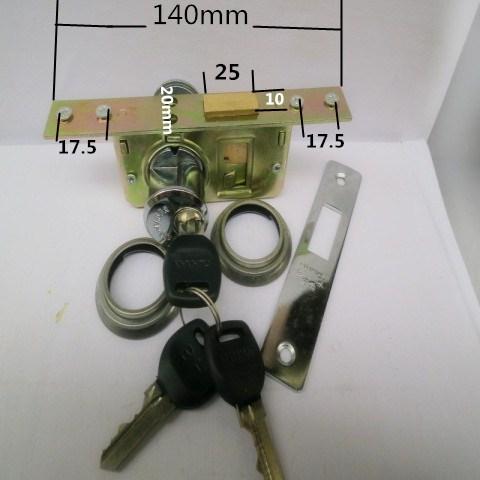 85 - lås dörren av stål, aluminium och glas dörrlås lås har