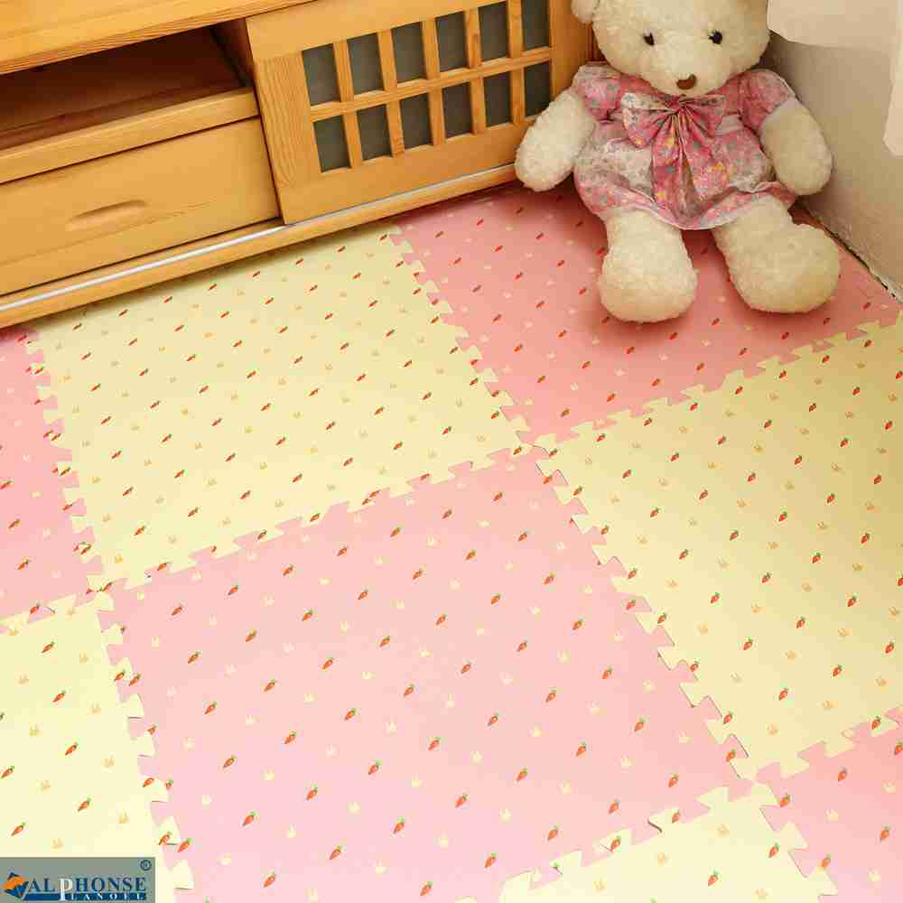 Mosaic carpet suede mat bedroom paving cashmere blanket puzzle mats thickened tatami room