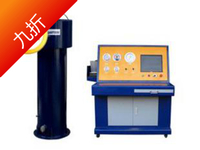 2017 new type of seamless steel cylinder water pressure tester