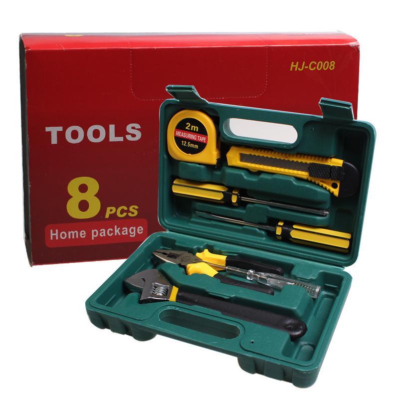 Mail 8 sets of vehicle repair kit, car emergency kit, car home gift insurance
