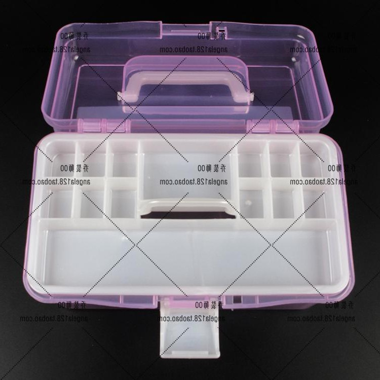 Nail products, phototherapy machine, Bobbi glue nail polish, double layer storage box, middle size toolbox