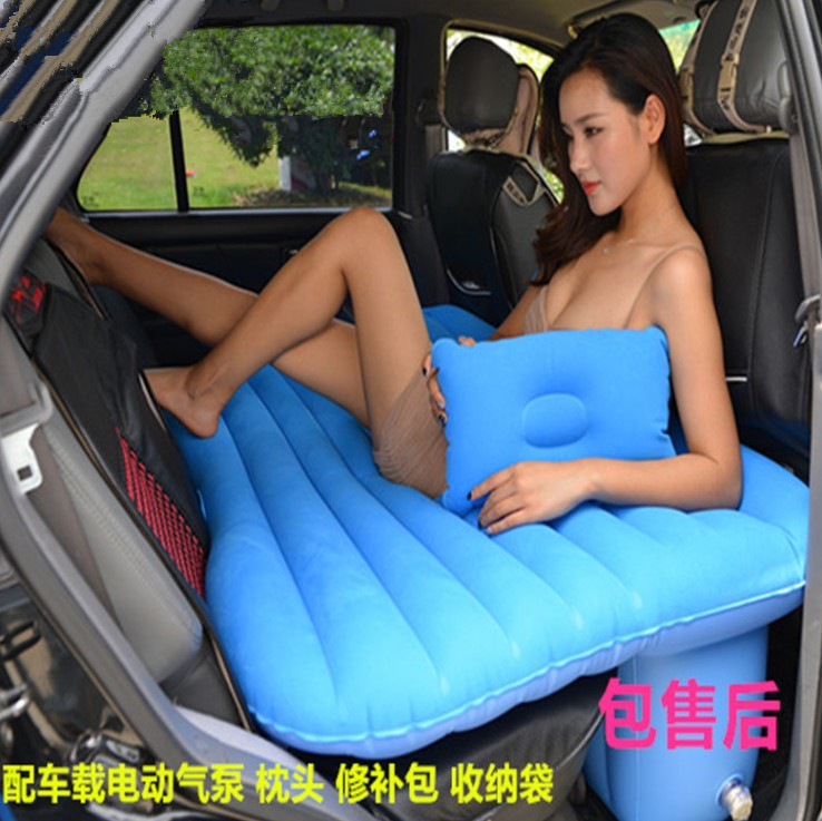 Self driving general motor vehicle rear row car bed, car bed mattress, inflatable travel car bed SUV