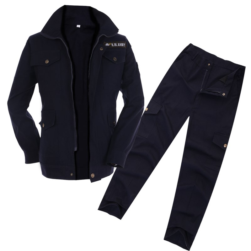 The welding work suits men code add fertilizer increased wear loose fat cotton camouflage pants auto insurance