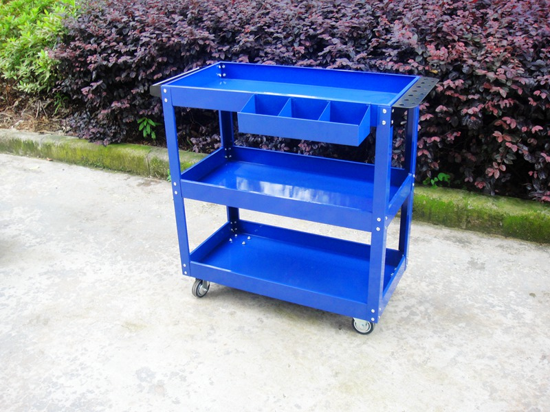 Hardware maintenance, three layer cabinet car assembly, turnover tools, vehicle handling parts, handcart thickening tool