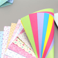 15 cm color 10 color color Suihua origami origami origami paper square paper stack of paper cardboard material
